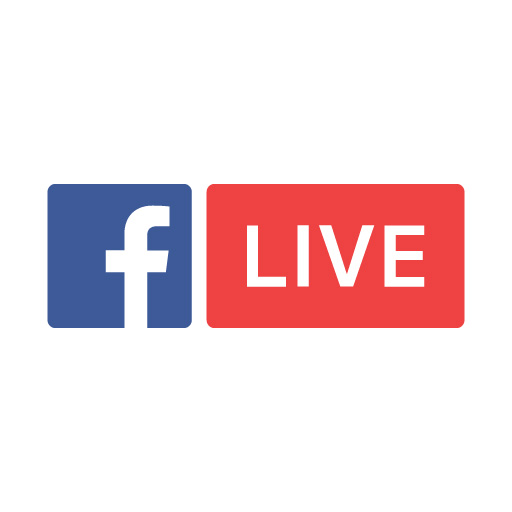 facebook live logo vector download